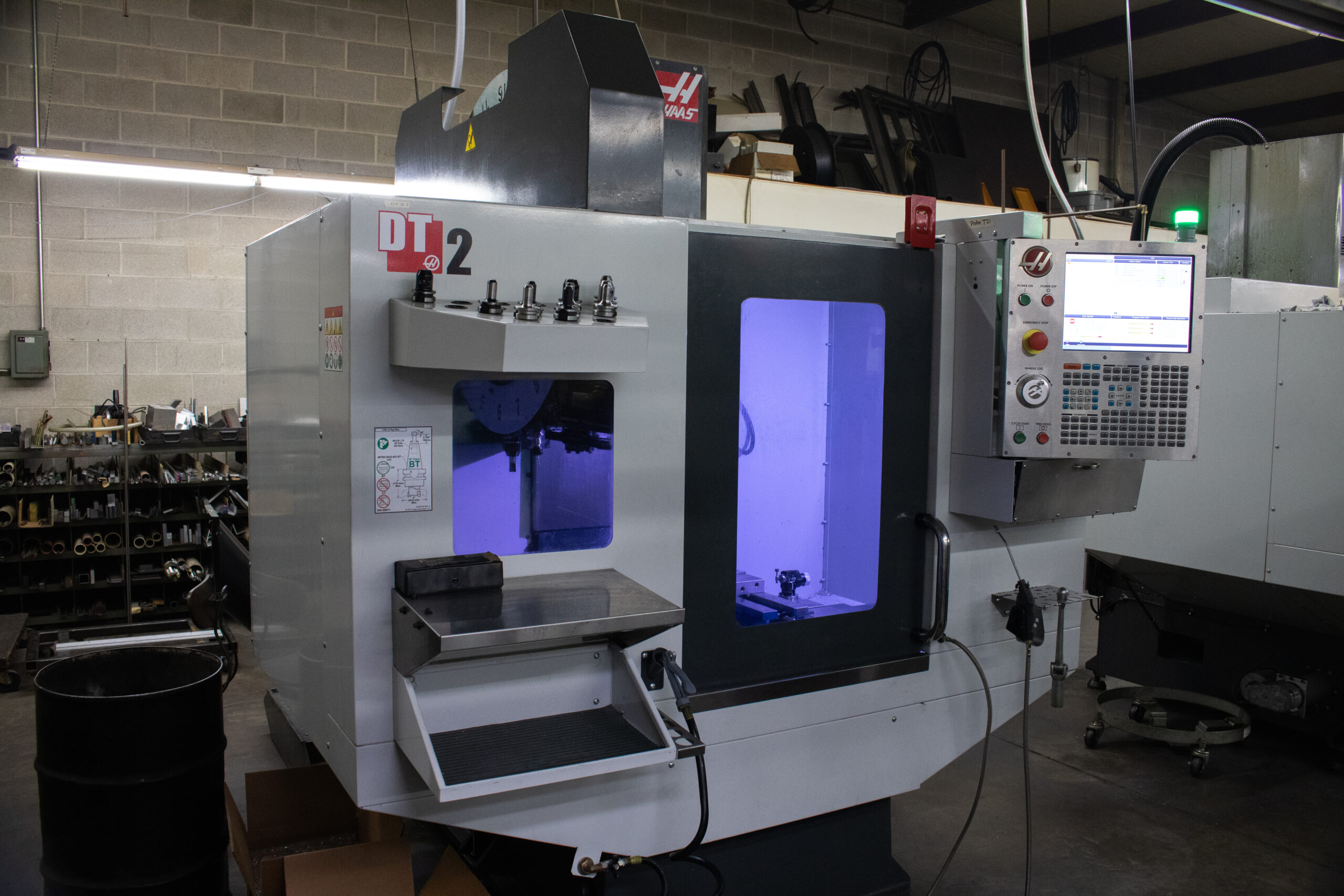 CNC milling and machining by Kelley-Tron Machine Co. in Harrisburg, PA